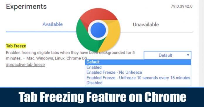 Cómo activar y usar la función de congelamiento de pestañas en Chrome