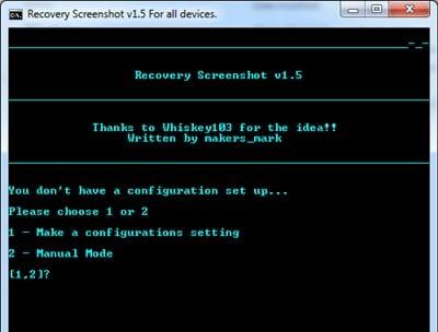 Cómo hacer capturas de pantalla en modo de recuperación en Android