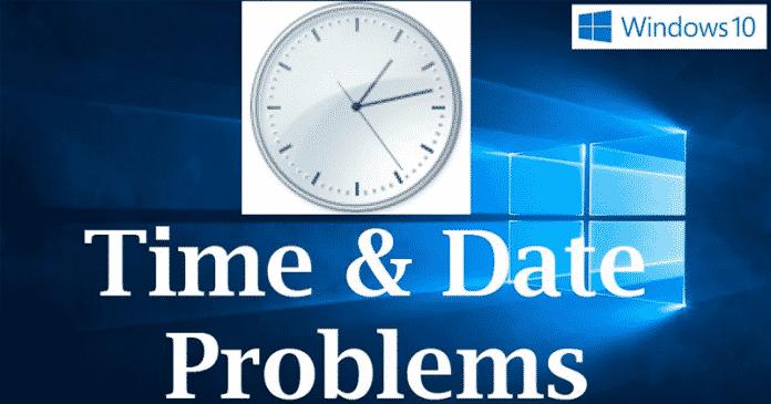 He aquí cómo arreglar el problema de Windows 10 Time Keeps Changing