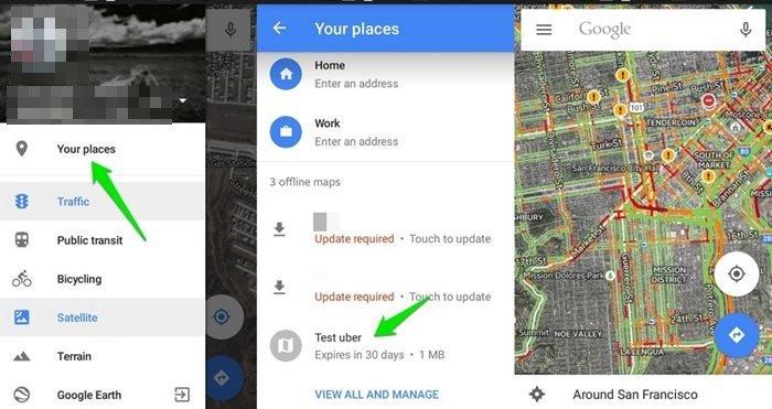 10 consejos y trucos para Google Maps en Android