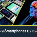 Los 10 peores teléfonos inteligentes para su salud