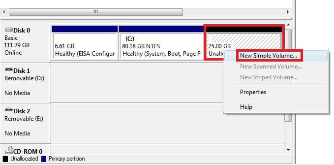 Cómo hacer una partición de las unidades USB en Windows 10