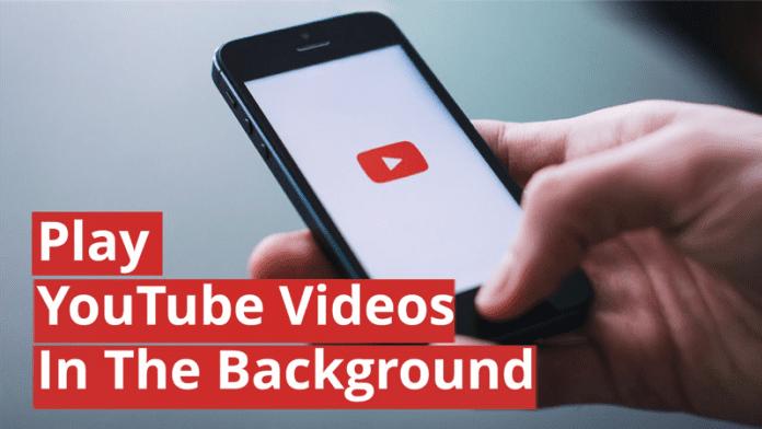 Cómo reproducir vídeos de YouTube en segundo plano (No-Root)