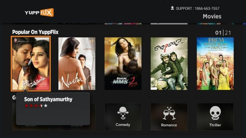 Los 10 mejores sitios para ver películas en hindi en línea de forma gratuita