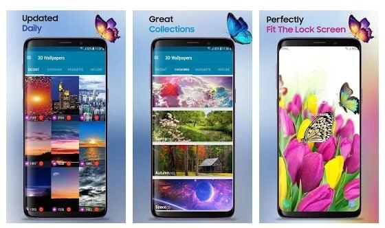 Las 20 mejores aplicaciones de Android para generar fondos de pantalla ilimitados