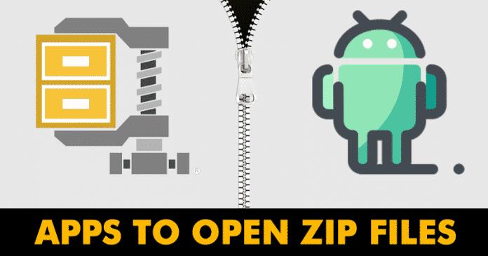 Las 5 mejores aplicaciones para abrir archivos ZIP en Android