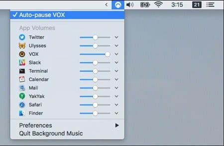 Cómo hacer una pausa automática en la música cuando otros sonidos comienzan a sonar