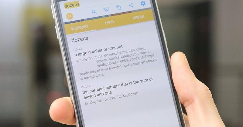 5 mejores maneras de encontrar instantáneamente definiciones en Android