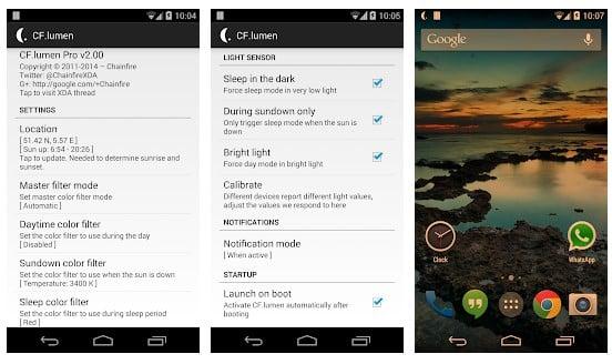 25 mejores aplicaciones de modo nocturno para Android (Blue Light Filter Apps)