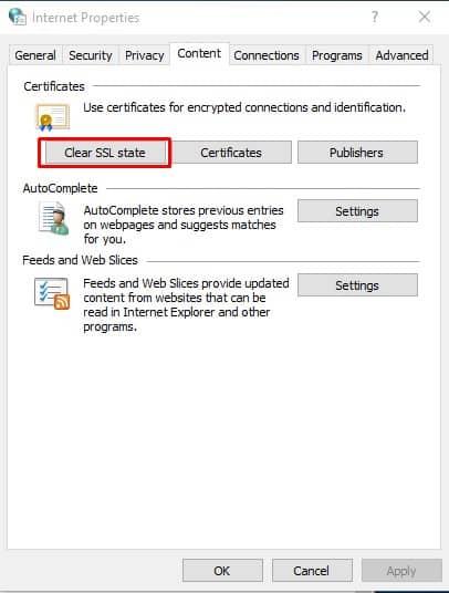 Cómo arreglar el mensaje de error ERR SSL VERSION O CIPHER MISMATCH.