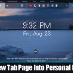 Cómo convertir la nueva página de pestañas en un tablero personal en Chrome