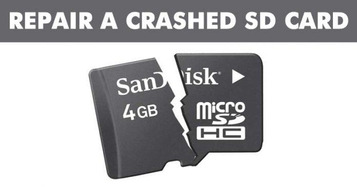 Cómo reparar una tarjeta SD estropeada y proteger sus datos
