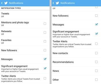 Cómo desactivar las notificaciones de Android para varias redes sociales