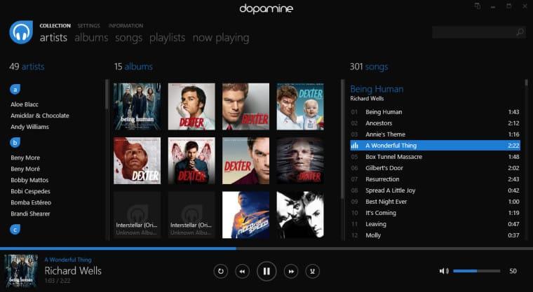 15 Mejores Aplicaciones de Reproductor de Música Gratuita para Windows 10