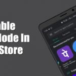 Cómo habilitar el modo oscuro en Google Play Store