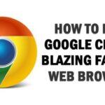 Cómo hacer que Google Chrome sea rápido para la navegación web