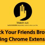 Cómo secuestrar el navegador de tus amigos usando la extensión de cromo
