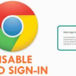 Cómo desactivar el inicio de sesión automático de Chrome para aplicaciones y sitios web en Android