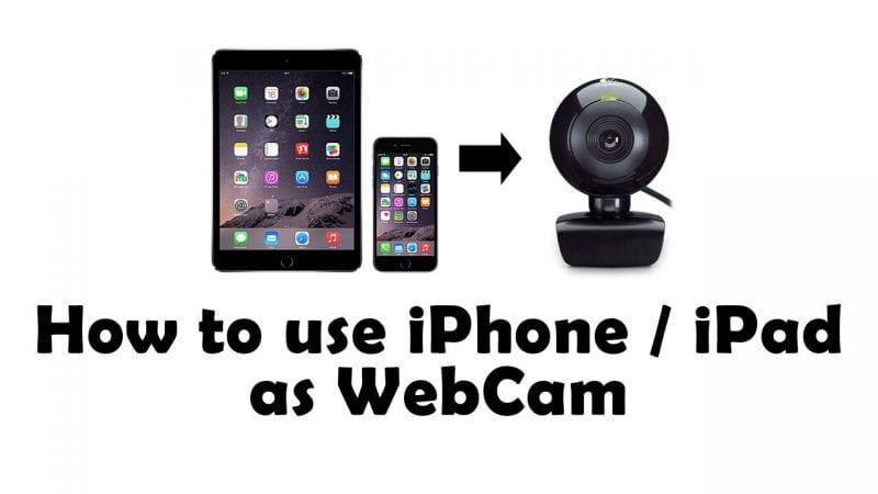 Cómo usar el iPhone como cámara web (5 mejores métodos)