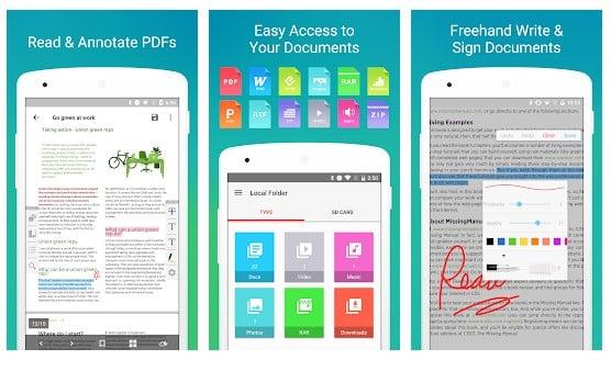 Las 10 mejores aplicaciones gratuitas de edición de PDF para Android 2020