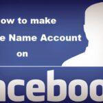 Cómo crear una cuenta de un solo nombre en Facebook