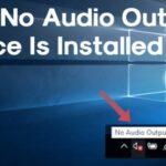 Cómo solucionar un error de instalación de un dispositivo de salida de audio en Windows 10