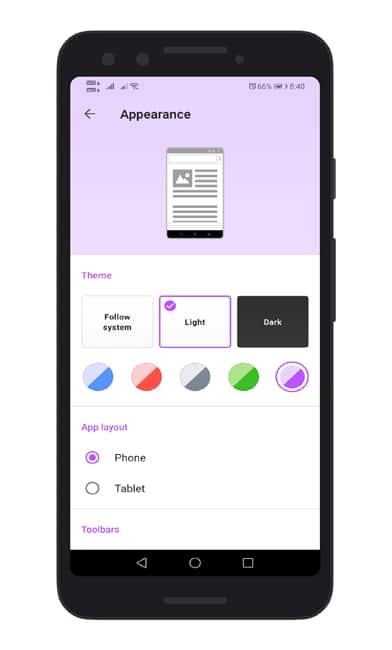 Cómo personalizar el navegador de la ópera para Android