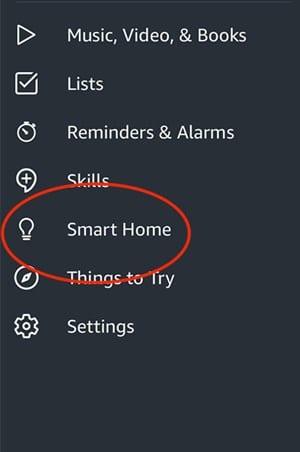 Cómo quitar un dispositivo inteligente de Alexa