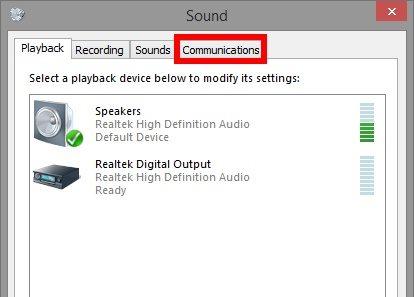 Cómo evitar que Skype baje el volumen de su equipo