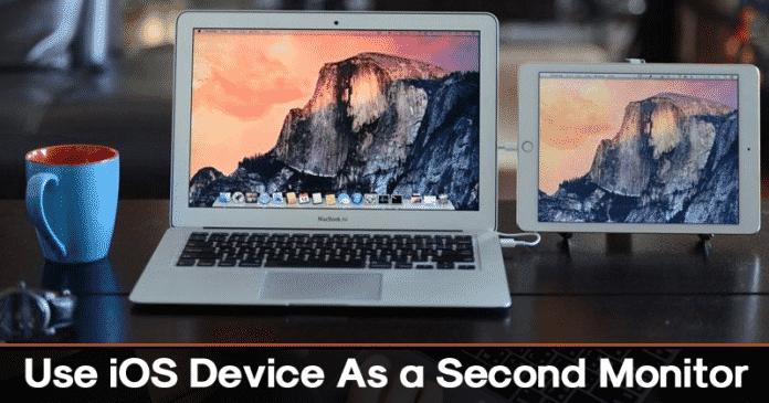Cómo usar el dispositivo iOS como un segundo monitor para su PC o MAC