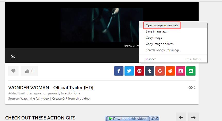 Cómo convertir cualquier video de YouTube en un GIF animado