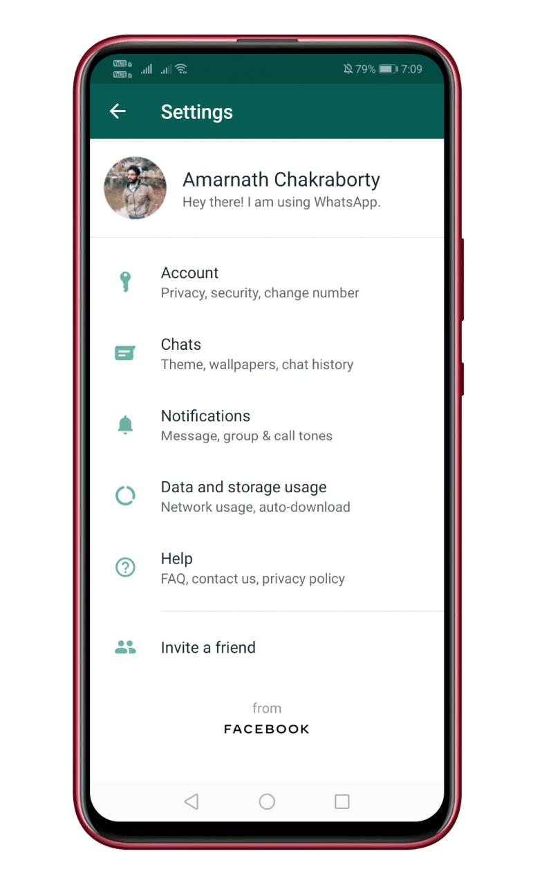 Cómo utilizar los nuevos fondos de pantalla de color sólido en el modo oscuro de WhatsApp