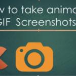 Cómo crear una captura de pantalla GIF animada en MAC
