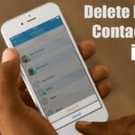 Cómo borrar varios contactos del iPhone o de cualquier dispositivo iOS