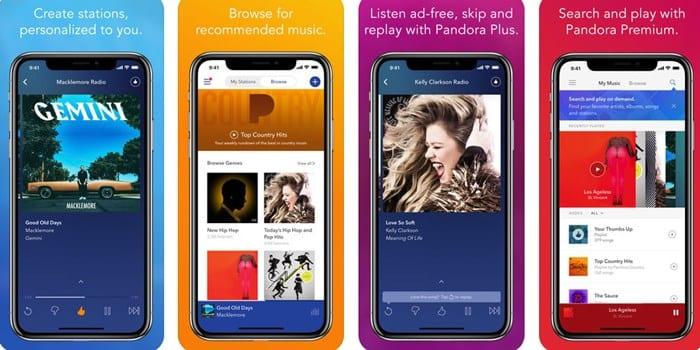 5 aplicaciones para el iPhone para mejorar la transmisión de música en el coche