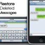 Cómo restaurar mensajes de texto borrados en el iPhone