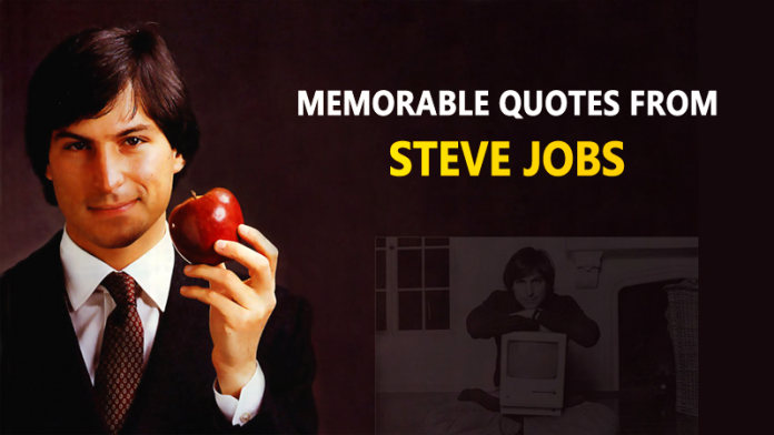 15 citas más memorables de Steve Jobs