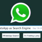 A continuación le explicamos cómo puede utilizar WhatsApp como motor de búsqueda